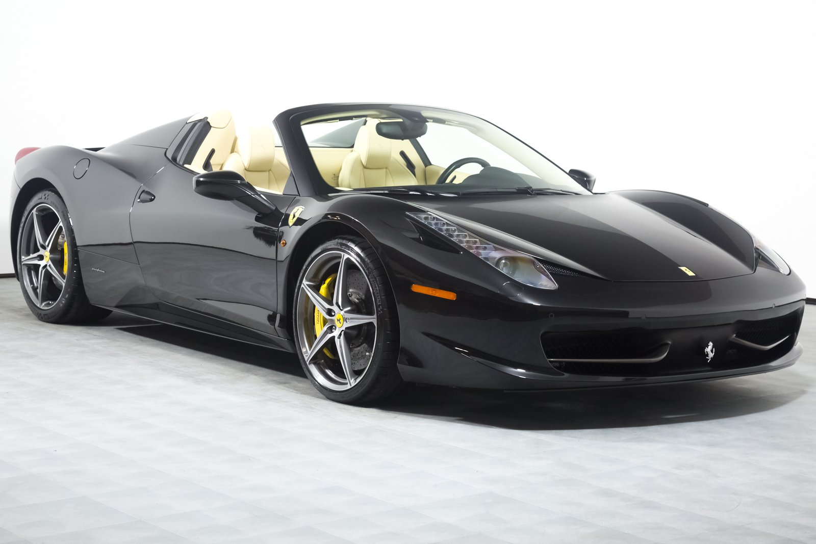 certified pre-owned 2012 ferrari 458 spider convertible in rancho